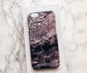 grey marble, marble case, and marble cover image