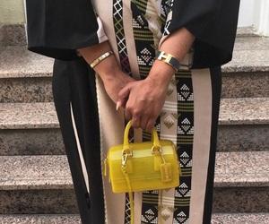 arab, fashion, and handbag image