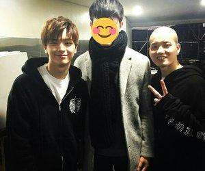 minhyuk, hyunsik, and sungjae image