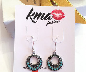 earrings, etsy, and women's accessories image
