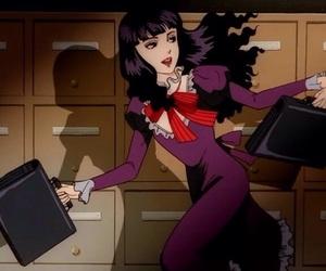 anime, girls, and school image