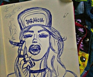 choker, draw, and drawing image