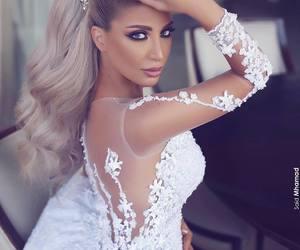 beauty, bridal, and romantic image