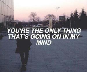 boy, girl, and Lyrics image
