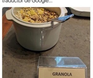 granola, meme, and memes en español image
