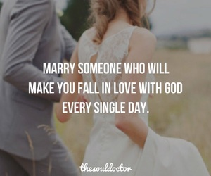 god, wedding, and love image