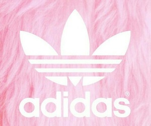 adidas, background, and pink image
