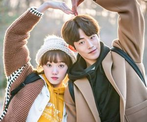 nam joo hyuk, kdrama, and couple image
