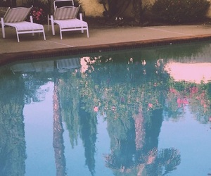 pool, blue, and aesthetic image