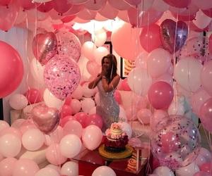 ballons, birthday, and fiesta image