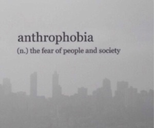 phobia, fear, and quotes image