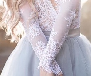 fashion, lace, and tulle image