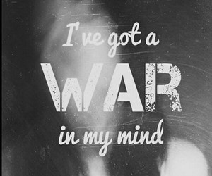 war, mind, and quotes image