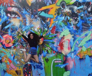 art, colourful, and happiness image