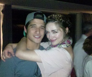 teen wolf, tyler posey, and crystal reed image