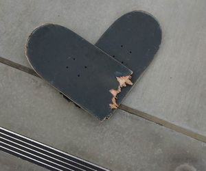 heart, skate, and alternative image