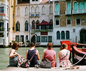 girl, photography, and venice image