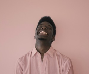 boy, pink, and smile image