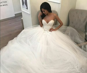 fashion, bride, and wedding image