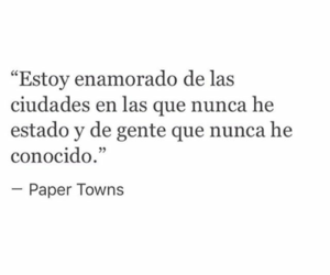 amor, paper towns, and black and white image