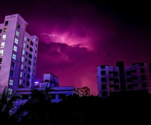 purple, pink, and storm image