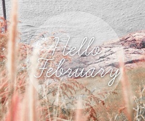 calendar, hello months, and february image