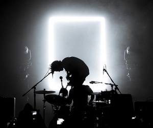 the 1975, band, and concert image