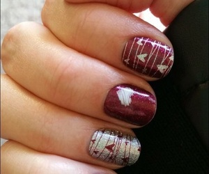 nail art, nails, and valentine image