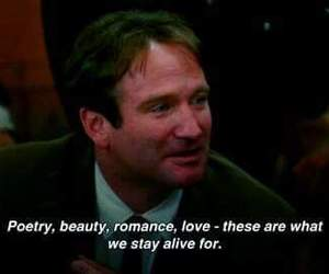 quotes, poetry, and robin williams image