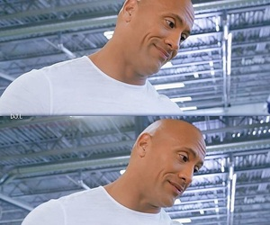 actor, Dwayne Johnson, and the rock image