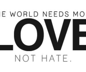hate, text, and world image