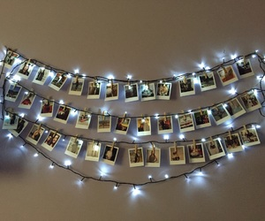 ceiling, christmas, and color image