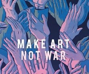 art, wallpaper, and war image