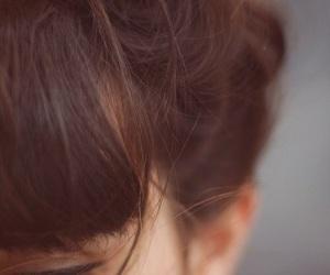 hair, girl, and eyes image