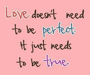 pink, perfect, and quote image
