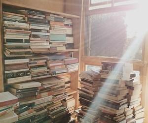 book, bookshop, and light image