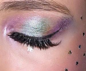 makeup, tumblr, and unicorn image