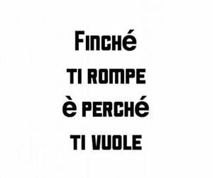 frasi, italian text, and italian quotes image