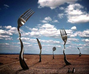 children, imagination, and cutlery image