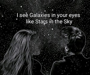 galaxy and love image