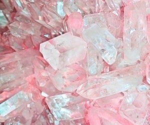crystals, cute, and pink image