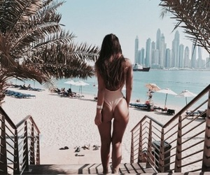 ass, beach, and city image