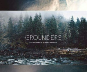the 100, grounders, and sky people image