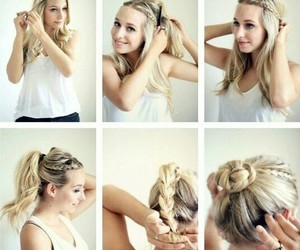 beauty and tutorial hair image