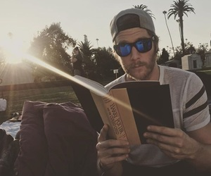 beard, book, and boy image