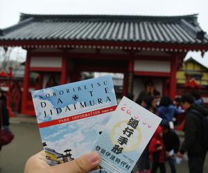 japan, tourist, and noboribetsu image