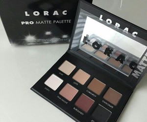 makeup, lorac, and beauty image
