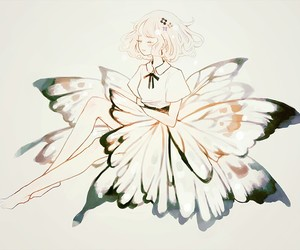 art, butterfly, and anime image