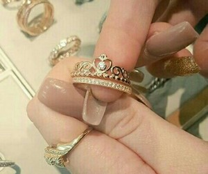 anel, coroa, and dourado image