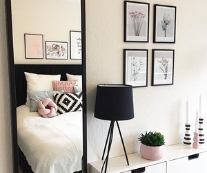 bedroom, design, and fashion image